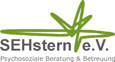 Logo Sehstern e. V. psychosoziale Beratung & Betreuung