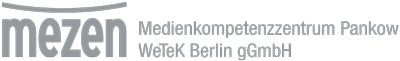 Logo Medienkompetenzzentrum Pankow und WeTeK Berlin